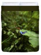 Butterfly Race Duvet Cover
