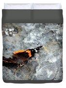 Butterfly Resting Duvet Cover