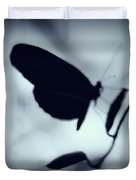 Butterfly Silhouette  Duvet Cover
