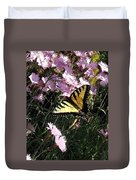 Butterfly Surprise Watercolor Duvet Cover