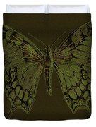 Butterfly Swallow Tail Duvet Cover