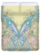 Butterfly Swirls Duvet Cover