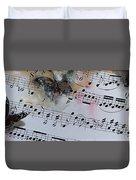 Butterfly Symphony Duvet Cover