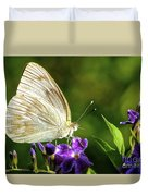 Butterfly Tea Time Duvet Cover
