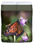 Butterfly - The Monarch  Duvet Cover