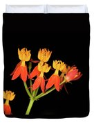 Butterfly Weed Duvet Cover