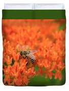 Butterfly Weed Heaven Duvet Cover