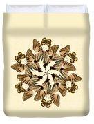 Butterfly Wheel Dance Duvet Cover