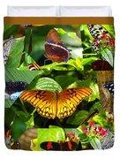 Butterfly Work 10 Duvet Cover