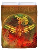 Butterflyman Solarlife Duvet Cover by Joseph Mosley