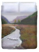 Buttermere In The Lake District Duvet Cover