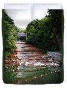 Buttermilk Falls State Park New York 02 Duvet Cover