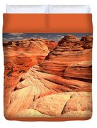 Buttes And Checkerboards Duvet Cover