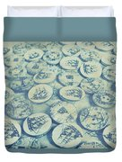 Button Seas Duvet Cover