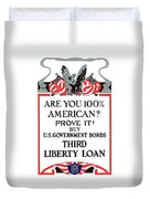 Buy U.s. Government Bonds Duvet Cover