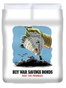 Buy War Savings Bonds Duvet Cover