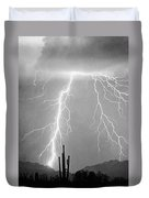 Bw Lightning From Heaven Duvet Cover