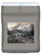 Bw Mountain Rapids Duvet Cover