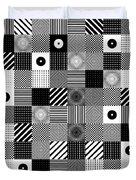 Bw Pop Pattern Duvet Cover