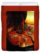By Lamplight Duvet Cover