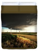 By Road, By Rail, Or By God Duvet Cover