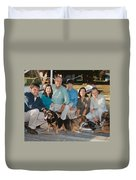 By The Dock Duvet Cover