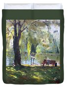 By The Lake  Duvet Cover