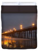 By The Pier Duvet Cover