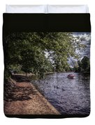 By The River Ouse Duvet Cover