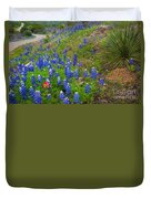 Hill Country Yucca Duvet Cover