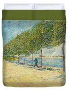 By The Seine Duvet Cover