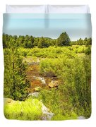 By The Stream Duvet Cover