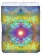 By The Tarnished Light Of The Moon Duvet Cover