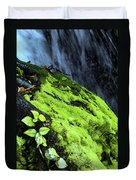 By The Waterfall Duvet Cover