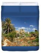 Byblos Castle, Lebanon Duvet Cover