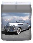 Bygone Era - 1941 Cadillac Convertible Duvet Cover