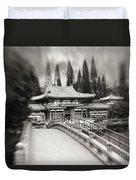 Byodo-in Temple Duvet Cover