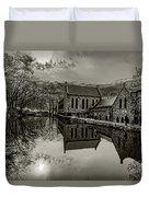 Byrd Park Pumphouse 3711t_s2 Duvet Cover