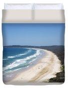 Byron Bay Tallow Beach, Australia Duvet Cover