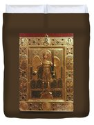 Byzantine Art: St. Michael Duvet Cover