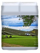 C-47 Special Delivery Duvet Cover