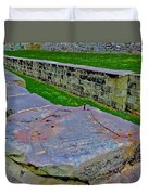 C And O Canal Lock Duvet Cover