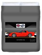 C5 Corvette Zo6 'profile' I Duvet Cover