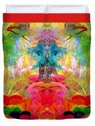 Ca-the-na-goddess-mohave Duvet Cover