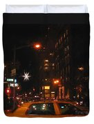 Cab New York Duvet Cover