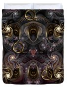 Cabalistic Symmetry Of Q Duvet Cover