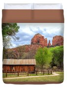 Cabin At Cathedral Rock Duvet Cover