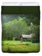 Cabin In The Aspens  Duvet Cover