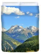 Cabin In The San Juans Duvet Cover