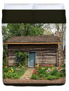 Cabin In The Tulip Patch Duvet Cover